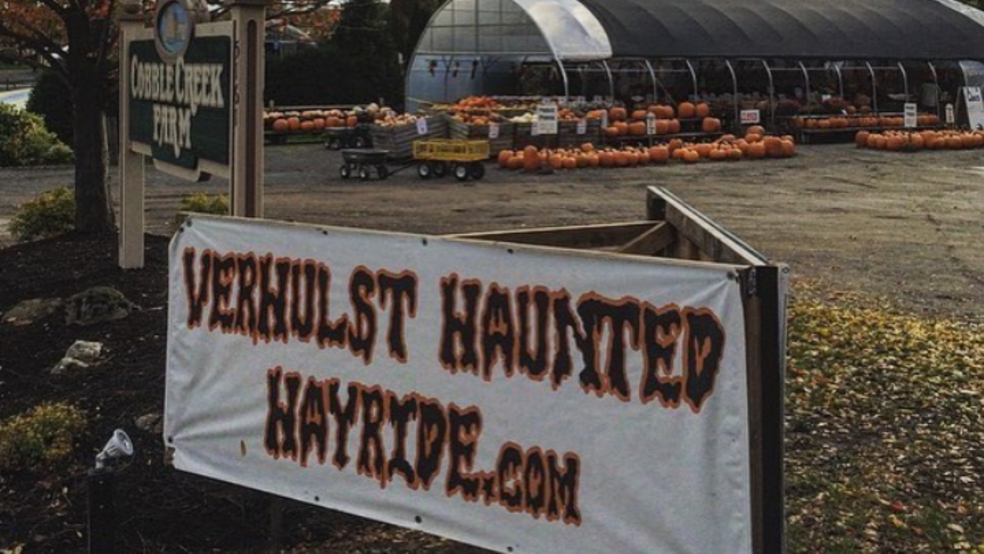 Rochester NY Haunted Halloween Hayride